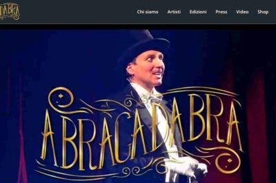 sito web per abracadabra
