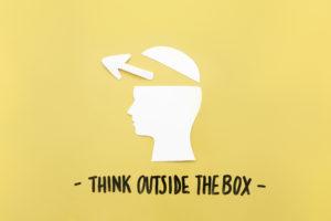 sito web: pensa fuori dal box con il